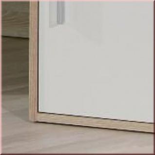 Eckschreibtisch Schreibtisch 2 Farben Schwarz Weiß Sonoma Eiche L Fabian Vorschau
