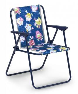 3-tlg Kinder Camping Möbel 2 Klappstuhl Klapptisch Kinder-Gartenmöbel Kindermotiv BF-Kidis - Vorschau 3