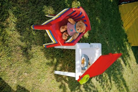 Gartentisch Kindertisch Stiftehalter Tischplatte aufklappbar Staufach BF-Alibaba-T - Vorschau 3