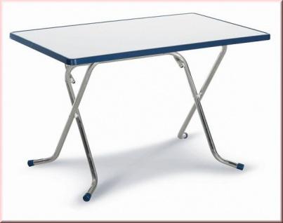Klapptisch Campingtisch klappbar Gartentisch rechteckig 110 x 70 cm BF-Nixe
