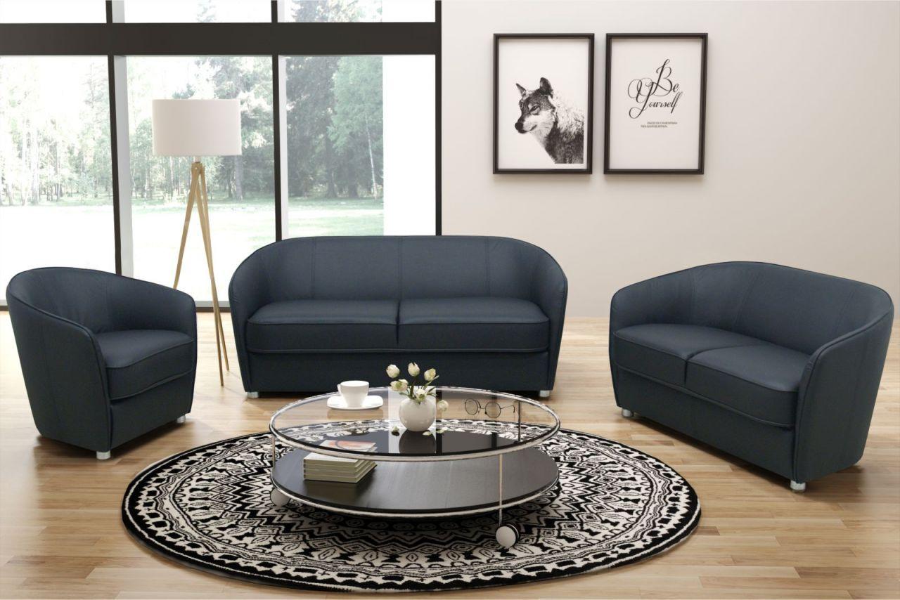 3 tlg polstergarnitur 2er sofa 3er couch sessel federkern 2 farben kunstleder do celia kaufen. Black Bedroom Furniture Sets. Home Design Ideas
