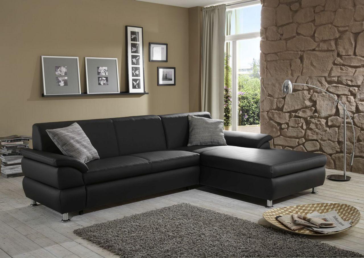 ecksofa recamiere bettfunktion w hlbar 2 farben kunstleder wei schwarz do beauty 2 kaufen bei. Black Bedroom Furniture Sets. Home Design Ideas