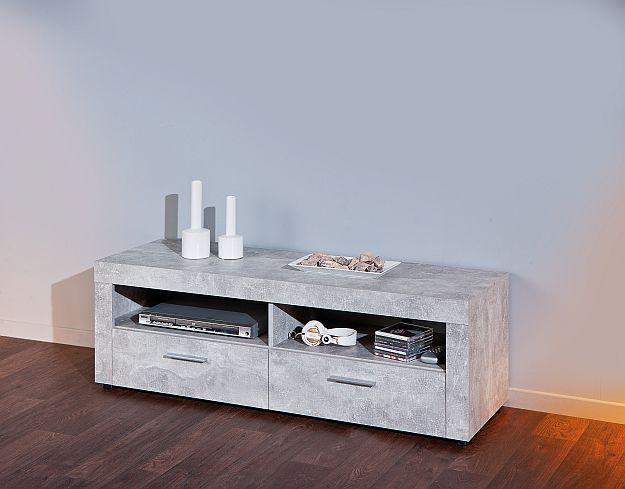 tv lowboard betonoptik 2 farben l brain 6 kaufen bei eh m bel. Black Bedroom Furniture Sets. Home Design Ideas