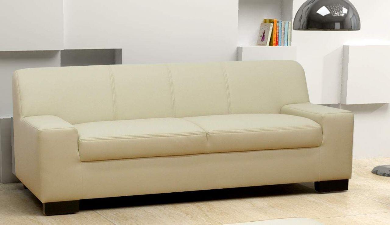 3 Tlg Couchgarnitur 3er Couch 2er Sofa Hocker Polstergarnitur Do