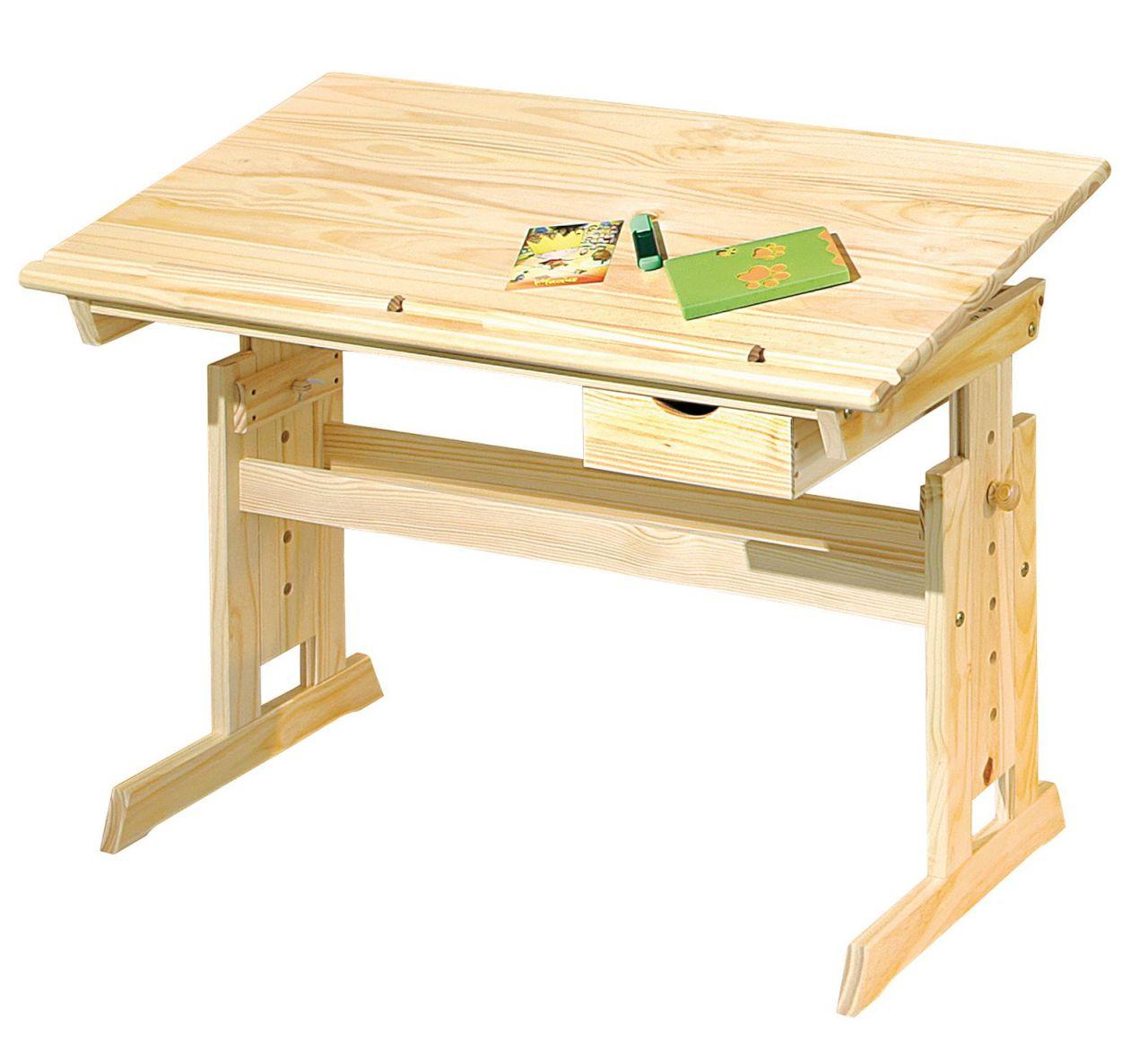 Kinder Jugend Schreibtisch Höhen Neigungsverstellbar Schublade