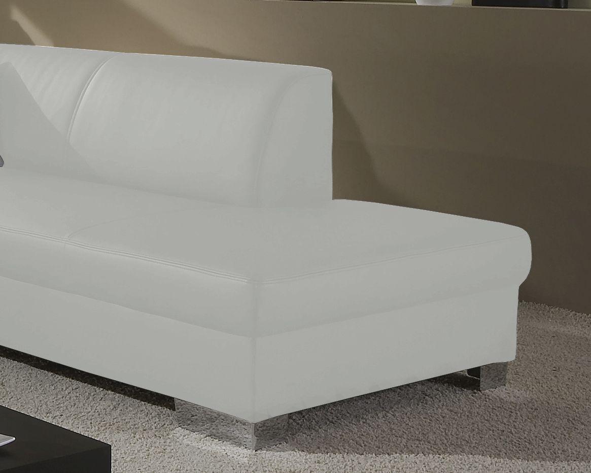 Eckcouch Bettfunktion L Sofa Wohnlandschaft L Form 2 Farben Schwarz
