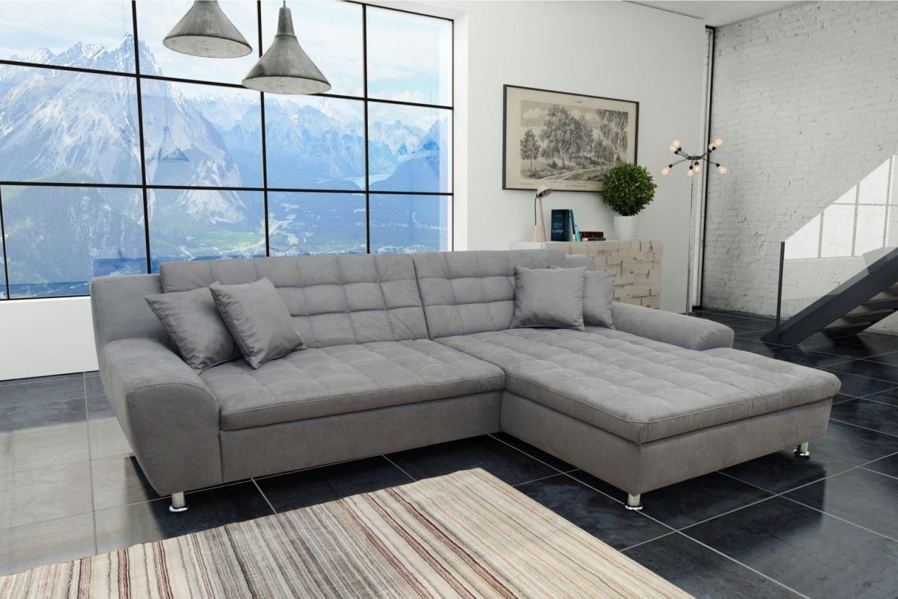 ecksofa bettfunktion breite recamiere polstergarnitur 4 farben w hlbar materialmix l form do. Black Bedroom Furniture Sets. Home Design Ideas