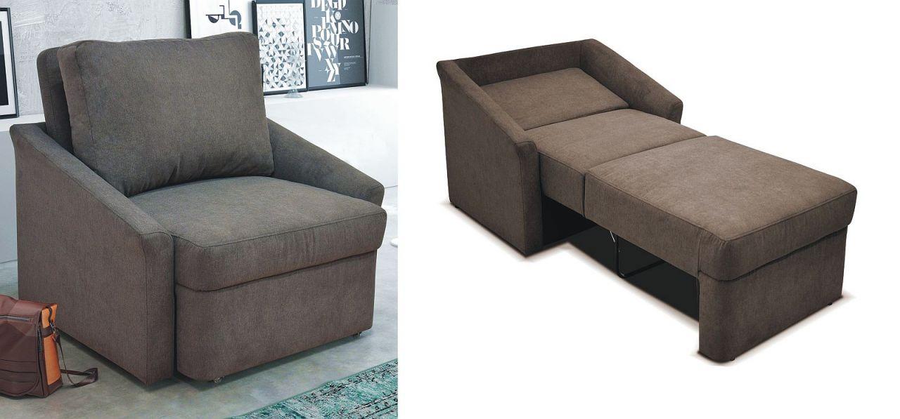 Relaxsessel Sessel Inkl Bettfunktion Federkern Boxspringpolsterung