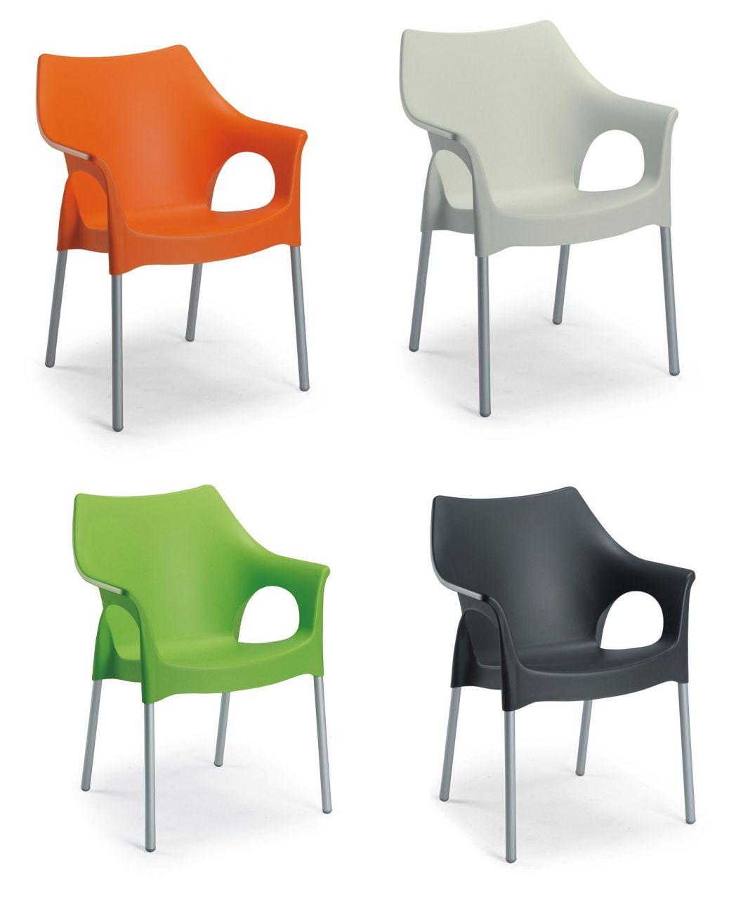 Stuhl stapelsessel gartenstuhl modern 4 trendige farben - Gartenstuhl modern ...