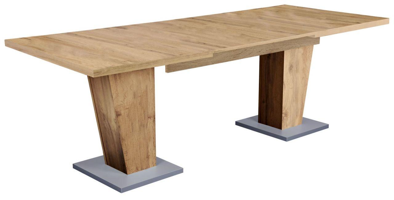 Tisch Ausziehbar 140 180 220 Cm Esstisch 140 220x90 Cm Schrage