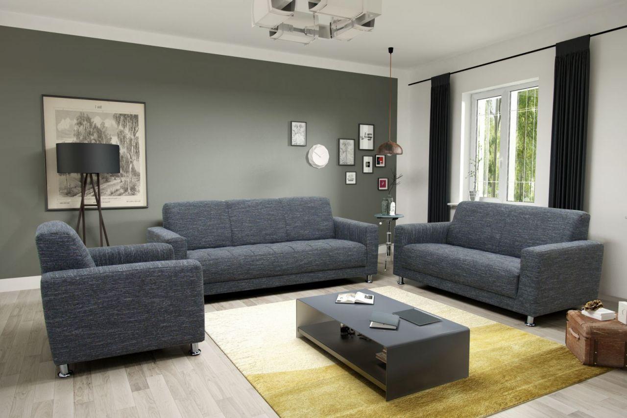 3 teilige couchgarnitur 2 sitzer 3 sitzer sofa sessel. Black Bedroom Furniture Sets. Home Design Ideas