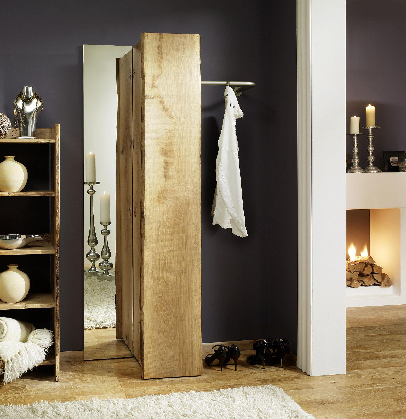 garderobe set 4 teilig landhausstil eiche massiv s gerauh. Black Bedroom Furniture Sets. Home Design Ideas