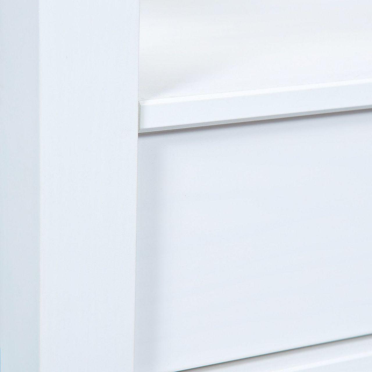 couchtisch glasplatte ablage 2 schubladen landhausstil. Black Bedroom Furniture Sets. Home Design Ideas
