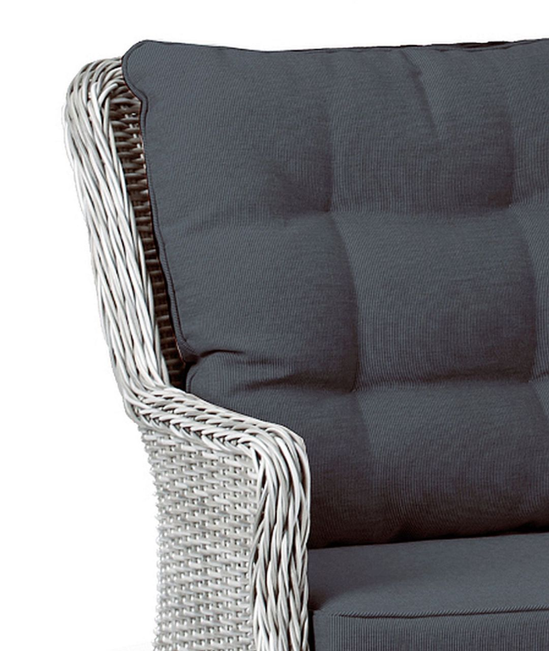 polster wetterfest fabulous polyrattan in braun gartentisch mit ca x x cm inkl polster tisch. Black Bedroom Furniture Sets. Home Design Ideas