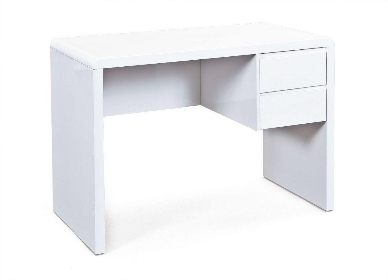 Sympathisch Schreibtisch Weiß Mit Schubladen Dekoration Von 2 Hochglanz Weiß 110 Cm L-petra 1
