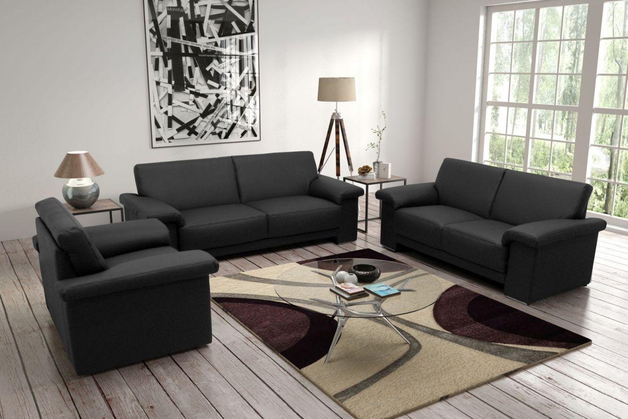 3 tlg couchgarnitur 3 farben 2 stoffe federkern polstergarnitur do acareto fk kaufen bei eh m bel. Black Bedroom Furniture Sets. Home Design Ideas