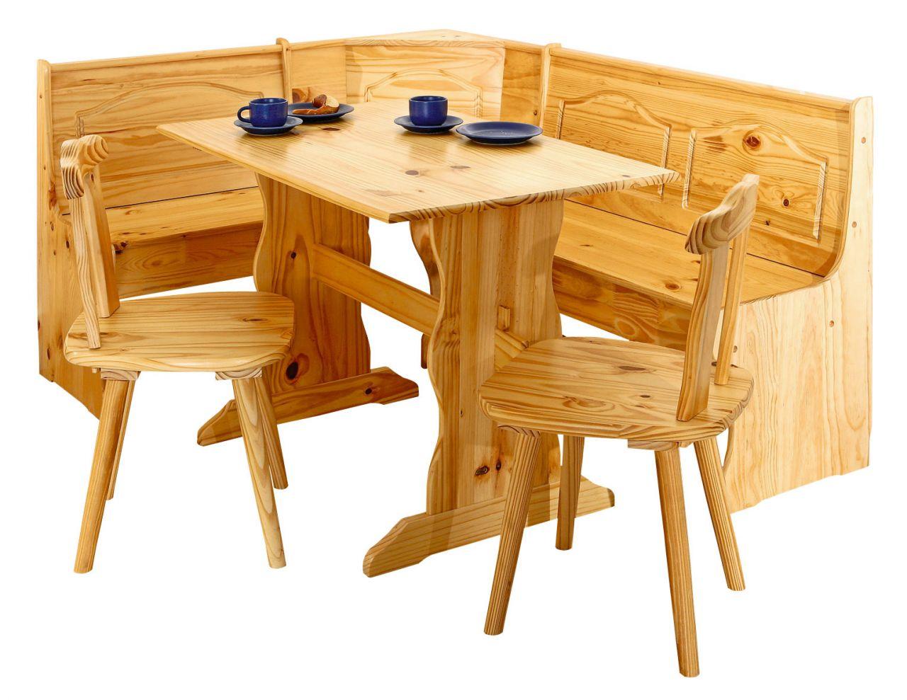 eckbankgruppe 4 tlg sitzgruppe landhausstil eckbank st hle tisch massivholz 2 farben l doplau. Black Bedroom Furniture Sets. Home Design Ideas