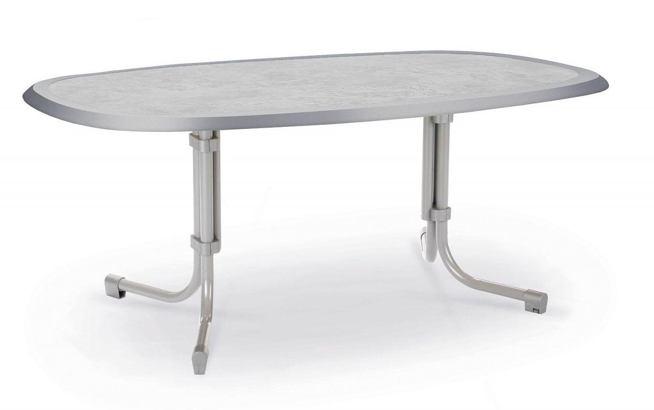 Ovaler Gartentisch.Gartentisch 3 Größen Eckig Oval 6 Farben Klapptisch Klappbar Werzalittischplatte Bf Boule