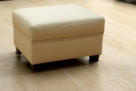 3-tlg. Couchgarnitur 3er Couch 2er Sofa Hocker Polstergarnitur DO-Napoli - Vorschau 4