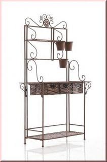 regal pflanzregal gartenregal viele extras metall 6 antik farben cl summer kaufen bei eh m bel. Black Bedroom Furniture Sets. Home Design Ideas
