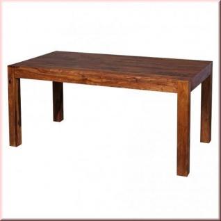 Esstisch 6 Größen Massivholz 2 Holzarten Akazie Sheesham Tisch 80 - 200 cm W-E161460