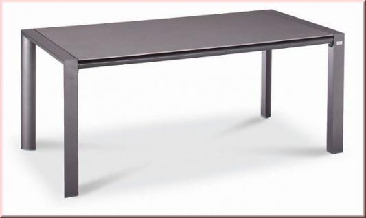 Awesome Tisch Gartentisch Aluminium X Cm Glasplatte Farben Bfbozen With  Gartentisch Eckig Metall