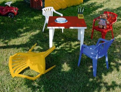 Gartentisch Kindertisch Stiftehalter Tischplatte aufklappbar Staufach BF-Alibaba-T - Vorschau 4