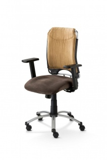Schreibtischstuhl 4 Farben Bürostuhl Armlehnen höhenverstellbar Gewichtseinstellung M-Sky