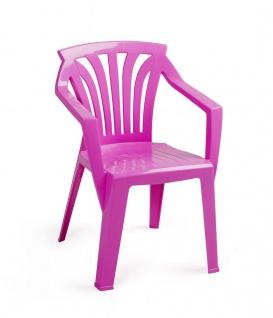 Kinder Gartenstuhl Stapelstuhl Kinderstuhl pink rot blau grün BF-Alibaba-S