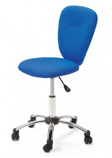 Kinderdrehstuhl höhenverstellbar 4 Farben wählbar Kinder Schreibtischstuhl ergonomisch L-Mac