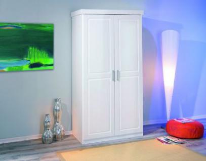 Schrank 2 Türen weiß L-Hokarn
