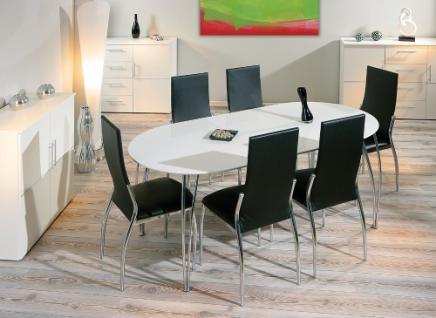 Esstisch oval weiß  Esstisch Oval Weiss online bestellen bei Yatego