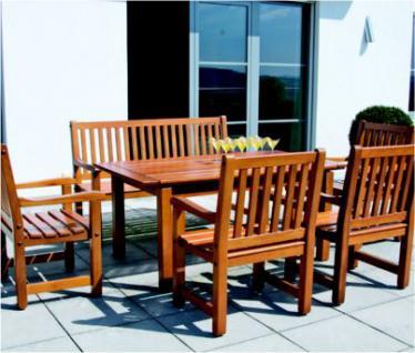 6-teiliges Gartenmöbel Sitzgruppe Mahagoni massiv 3 Ausführungen AW-Rio-Set-1 - Vorschau 1