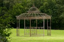 Pavillon Eisen bronze 2 XL Größen CL-Romana