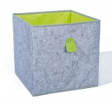 Faltbox Filz Aufbewahrungsbox faltbar Regalbox 4 Farben 31, 5 x 31, 5 x 31 cm L-Wolly