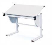 Schreibtisch Kinderschreibtisch 4 Farben höhenverstellbar neigunsverstellbar L-Chira