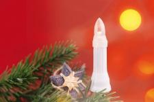 LED Lichterkette Weihnachtsbaumbeleuchtung 2 Längen 16/30 warmweiße LEDs Außenbereich H-Lights-1