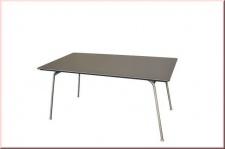 Gartentisch Tisch Edelstahl Zement-Faserplatte anthrazit witterungsbeständig LC-Kenia-T