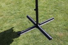 Sonnenschirmständer Schirmständer Kreuzständer 100 x 100 cm LC-KS