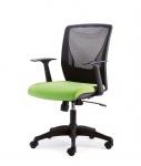 Drehstuhl Armlehnen Bürostuhl 2 Farben Lendenwirbelstütze Synchronmechanik M-Champ
