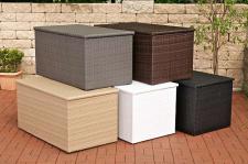 Auflagenbox XL Kissenbox Garten Rattan 4 Farben CL-Adrian-XL