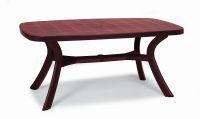 Gartentisch XL Tisch oval 192 x 105 cm 6 Farben 4-Bein Boulevard-Gestell BF-Korfu-3 - Vorschau 2