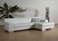 Eckcouch Bettfunktion L-Sofa Wohnlandschaft L-Form 2 Farben schwarz weiß DO-Taverna - Vorschau 5