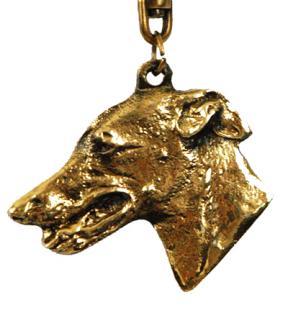 Windhund Greyhound Whippet Schlüsselanhänger