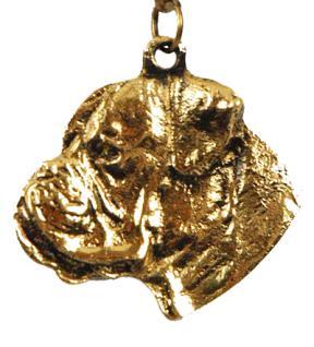Boxer / Bulldogge Schlüsselanhänger Anhänger