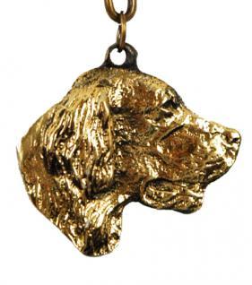 Golden Redriever Retriever Schlüsselanhänger