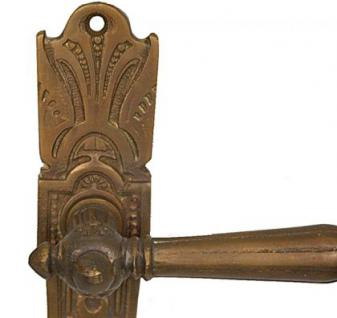 Jugendstil Tür Klinken für antike Türen Bronze Türbeschlag von ROCCOCO - Vorschau 3