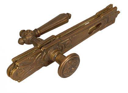 Jugendstil Tür Klinken für antike Türen Bronze Türbeschlag von ROCCOCO - Vorschau 4