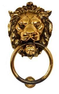 Löwe Löwenkopf Türklopfer
