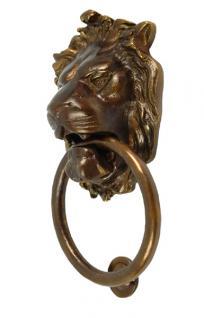 XXL Löwenkopf Türklopfer Bronze - Vorschau 2